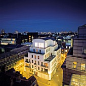 Penthouse constructed on top of existing building. Holborn, London, United Kingdom.