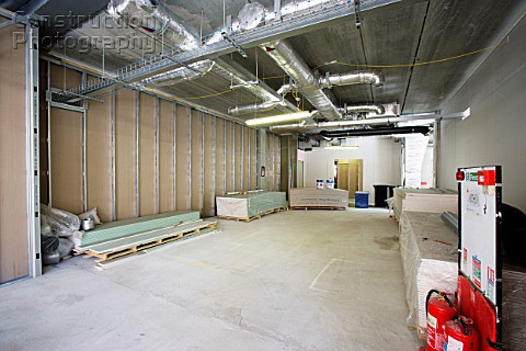 A001 00457 Interior Of An Office Block Under Constructi