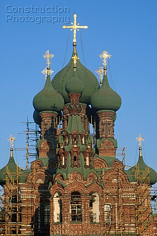 Ostankino Church of the Trinity Moscow Russia