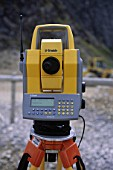 Trimble EDM or Total Station on site.