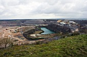 The Yeoman Torr Works quarry in Shepton Mallet, England, is one of the largest quarry in the UK