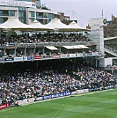 Grandstands. Lords Cricket Ground. London, United Kingdom.