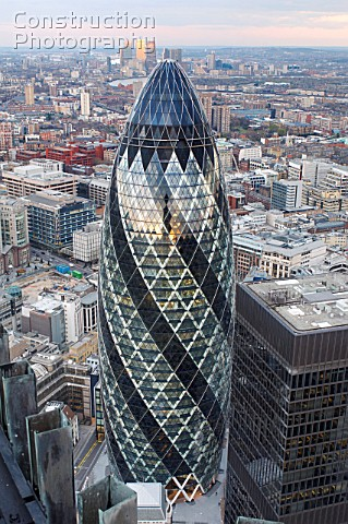 30 St Mary Axe The Gherkin London UK