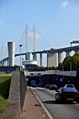 Dartford Tunnel and QE2 Bridge, London
