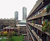 Barbican Estate, London. The architects (Peter Chamberlin, Geoffry Powell and Christof Bond) gave to London the first significant challenge to the post-war  consensus of urban decentralisation.