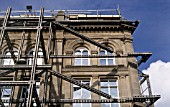 Facade retention during a listed building refurbishment work