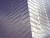 Stainless steel cladding at The Lowry, Salford Quays, Manchester, United Kingdom.