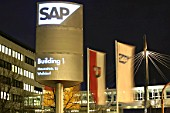 Headquarter of SAP AG in Walldorf, Germany