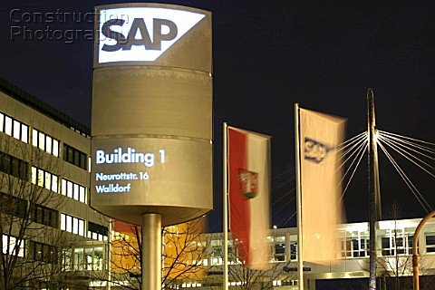 Headquarter of SAP AG in Walldorf Germany
