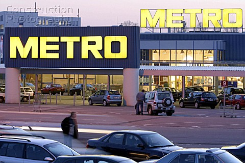 Store of METRO AG  in DortmundOespel Germany
