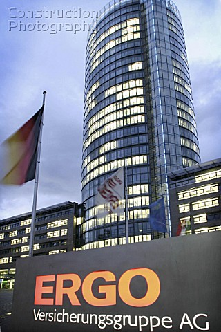 Len Düsseldorf a049 00105 headquarters of ergo in dusseldorf germany