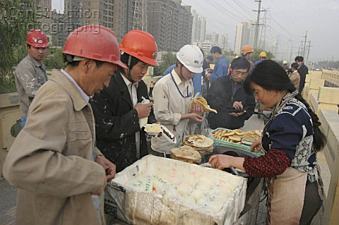 Chinese Construction Workers Chinese Construction Workers