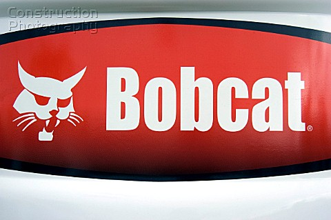 Bobcat Logo on a digger
