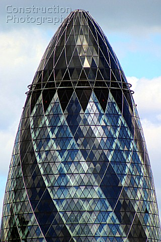 swiss re building the gherkin city of london united kingdom designed by norman foster and partners