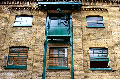 A088 00263 London regeneration Victorian warehouses in