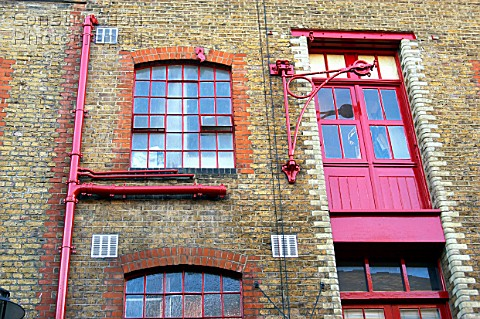 A088 00292 London regeneration Victorian warehouses in