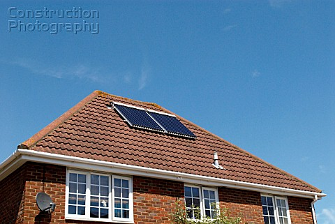 Solar Panels on UK housing