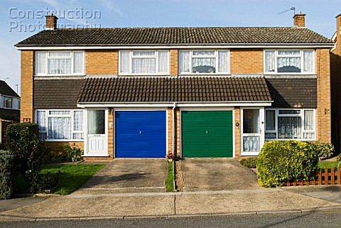 a088 02597 1960s semi detached houses ipswich suffolk