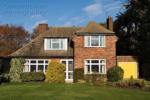 1940s detached house Ipswich Suffolk UK