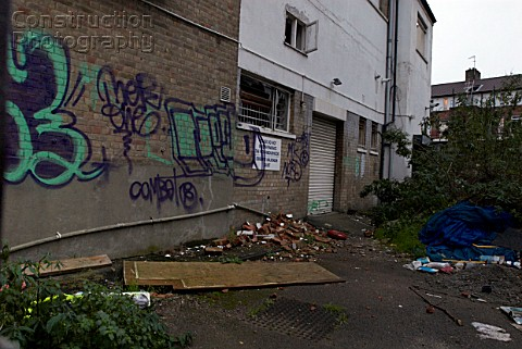 Abandoned Building And