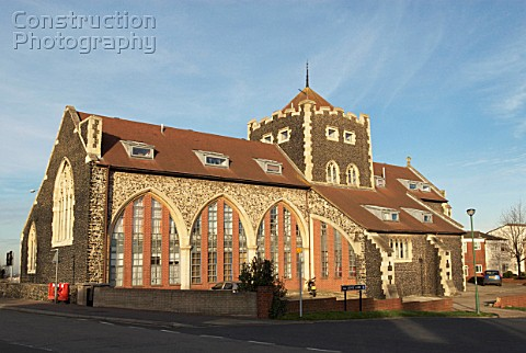 A088-04978: Church converted into flats, Greenhithe, Ken ...