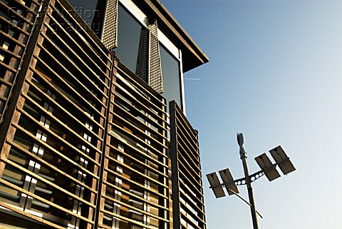 Solar panels installed at the Greenwich Yacht Club East London UK