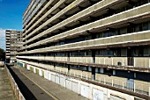 Heygate Estate, due to be demolished as part of the regeneration project in Elephant and Castle, South London, UK