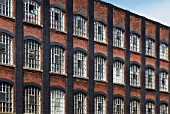 Victorian factory building converted into apartments, Stratford, East London, UK