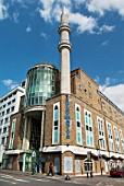 Suleymaniye mosque and UK Turkish Islamic Cultural Centre, Kingsland Road, Haggerston, East London, UK