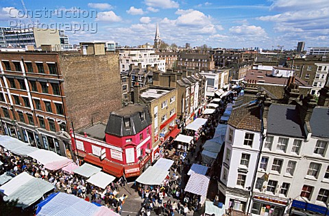 England London Petticoat Lane Market. Asset Information : A095-00351