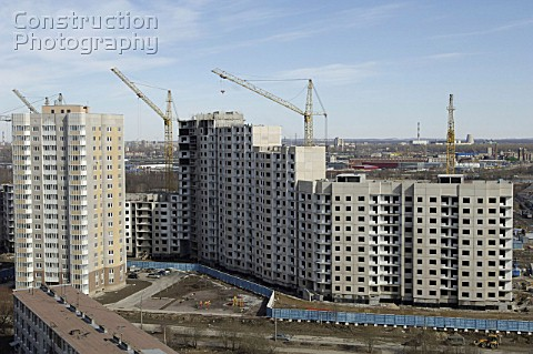 Serebryanye Klyuchi Silver Springs a neighborhood under construction in St Petersburg on national pr