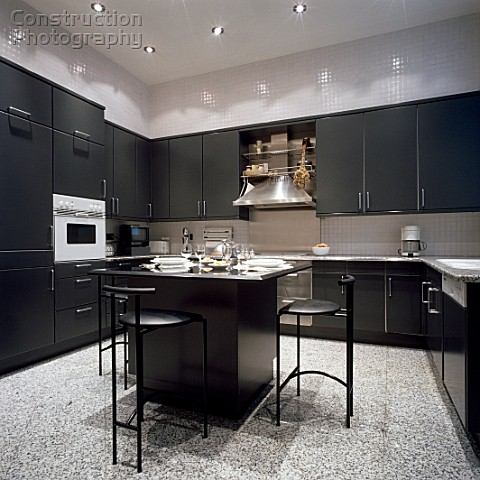 Black Kitchen Cabinets Design Ideas, Pictures, Remodel and