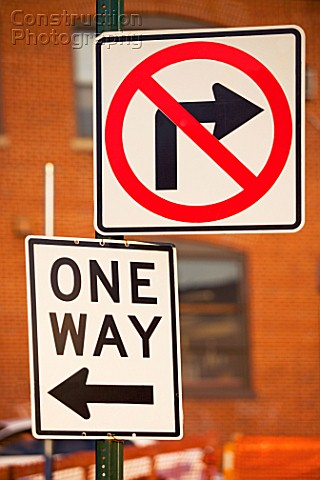 Road signs in new york