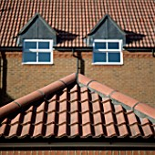 House with tiled roof