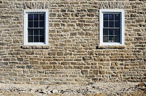 Stone masonry detail Old Stone Farm House Renovation 1848 Beach Road Kemptville Ontario